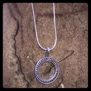 Casey Keith Design Jewelry - Balinese Detail Circle Pendant